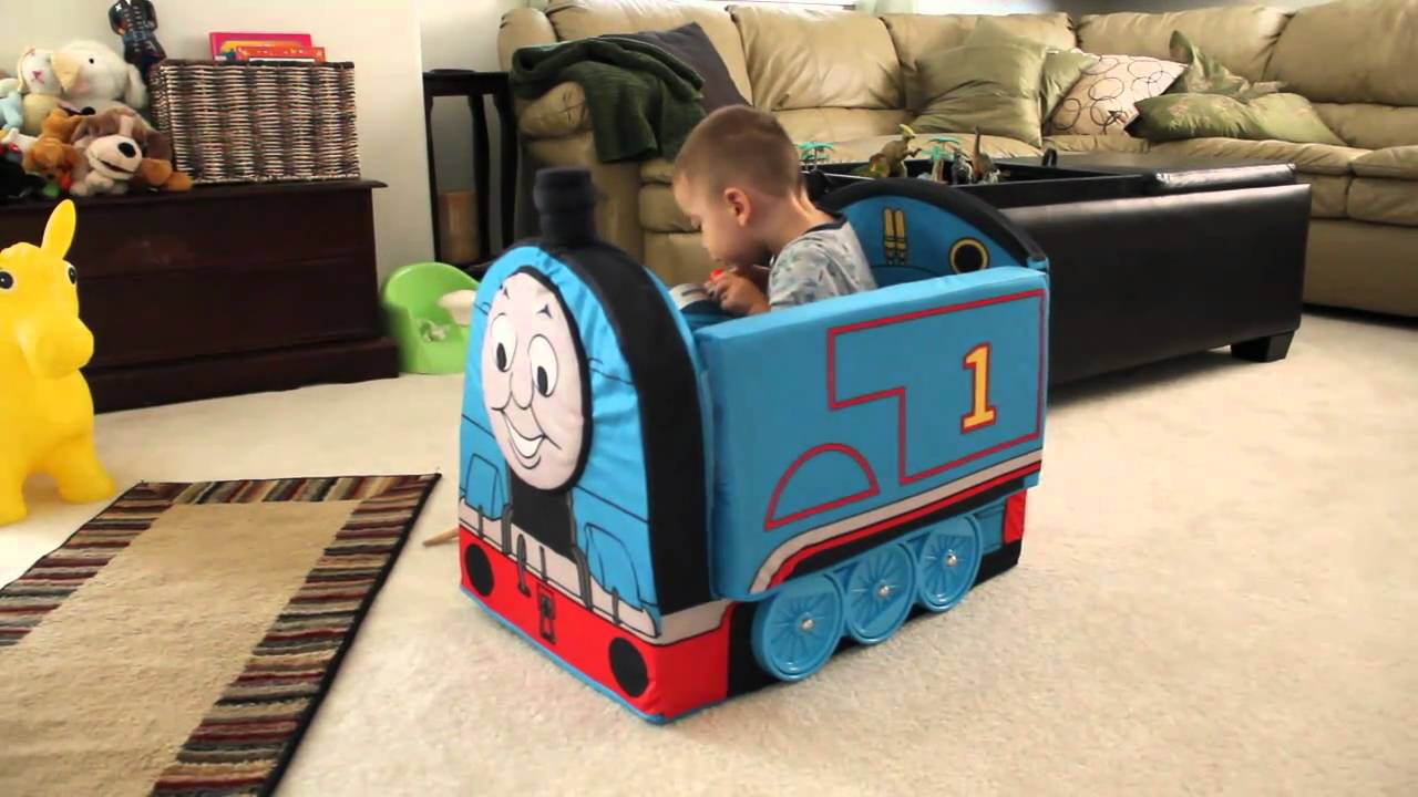 Toddler In Car Entertainment Thomas Train Sofa Youtube