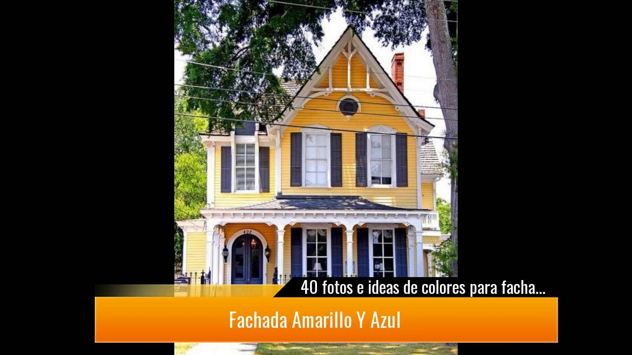 40 fotos e ideas de colores para fachadas de casas y for Imagenes de fachadas