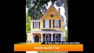 40 fotos e ideas de colores para fachadas de casas y exteriores YouTube