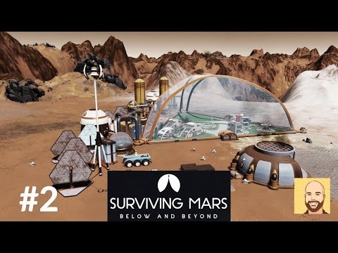 Below and Beyond (Full Release) - Hardest Map - Surviving Mars - Ep 2 |