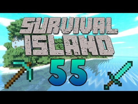 Stocking Up On Potions! - (Minecraft Survival Island) - Episode 55