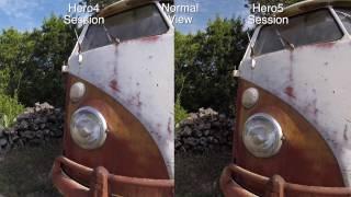 GoPro Hero5 Session vs Hero4 Session Quality Comparison - GoPro Tip #557