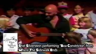 Shel Silverstein performs Boa Constrictor from Where the Sidewalk Ends - The Thinkpierce Store