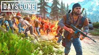 Days Gone   RAP D F RE TOMMY GUN  Days Gone Free Roam Gameplay 14