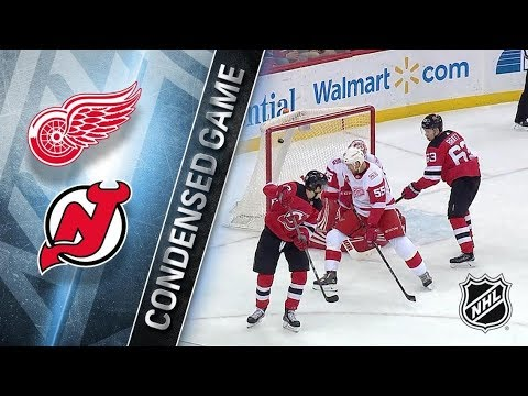 Detroit Red Wings vs New Jersey Devils – Dec. 27, 2017 | Game Highlights | NHL 2017/18. Обзор матча