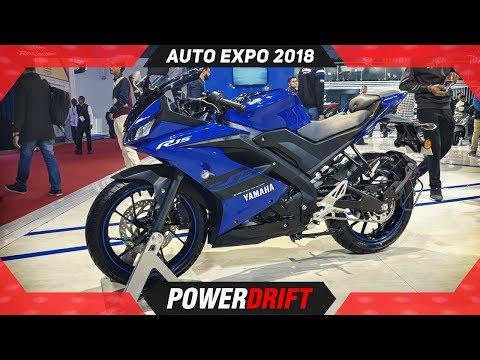 2018 Yamaha R15 V3 @ Auto Expo: The Rs 1 2 Lakh Superbike