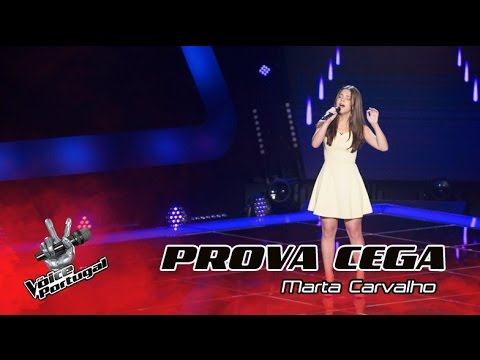"Marta Carvalho - ""Run""  Provas Cegas  The Voice Portugal"