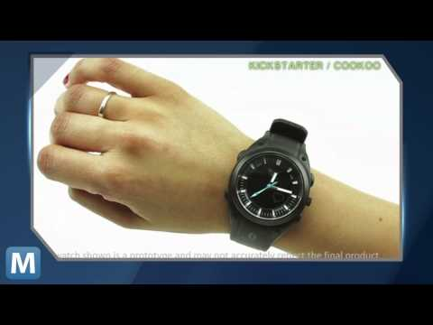 CooKoo Fits Your Smartphone Alerts into a Sleek Analog Watch
