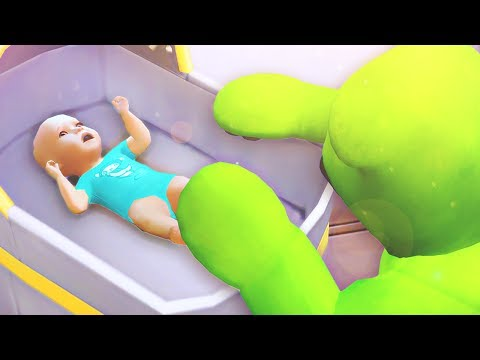 The Sims 4: Parenthood | Part 7 - STEALING THE NEW BABY |