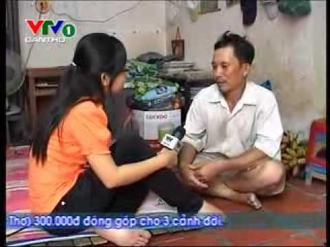 Cảnh đời ông Lê Văn Hùng - 15/9/2011 (http://www.vtvcantho.vn)
