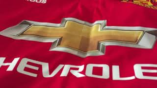 Minejerseys- Manchester United 17/18 Home Jersey (Player Version) Review