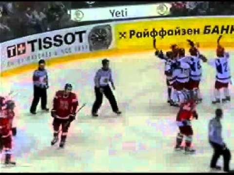 Хоккей Чемпионат мира Россия Чехияиз YouTube · Длительность: 4 мин42 с