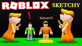 PIGGY SKETCH EDITION in Roblox PIGGY Build Mode!
