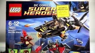 LEGO Batman Man-Bat Attack DC Comics Super Heroes 76011