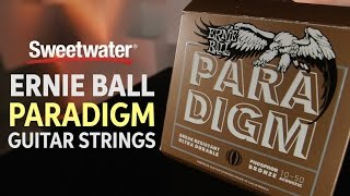 Ernie Ball Paradigm Guitar Strings Review
