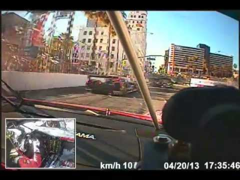 Onboard with Dion von Moltke at Long Beach Grand Prix