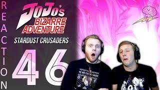 SOS Bros React - JoJo's Bizarre Adventure Part 3 Episode 46 - ZA WARUDO!!