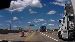 June 6, 2017  I-75 South from Ottawa River Rd to I-280 South