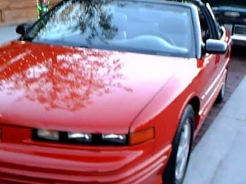 1995 Olds Cutlass Supreme Convertible