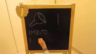 I: Impara l'alfabeto giocando - Alfabeto italiano per Bambini