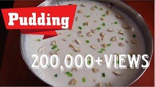 China Grass Milk Pudding/China Grass Pudding recipe/Agar Agar pudding recipe/Rcp No :30