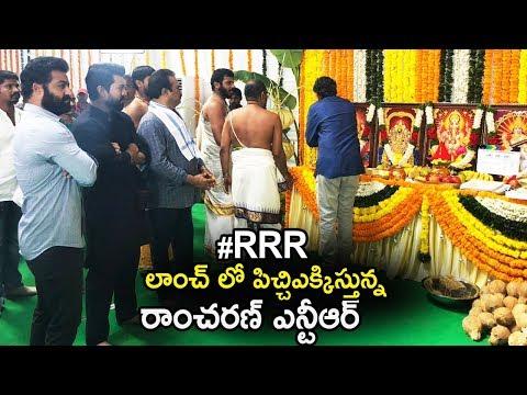 Ramcharan and NTR's RRR Movie Massive Movie Launch | SS Rajamouli | Chiranjeevi | Life Andhra Tv