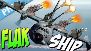 AC-130 FLAKSHIP - New Cancer Of The SKY (War Thunder User Made Mission) thumbnail