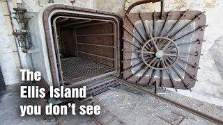 Exploring Ellis Island's abandoned hospital