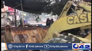 LDA operation against illegal construction in City