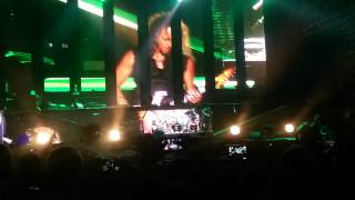 Metallica By Request - Rock In Roma 2014 - Intro + Battery + Master Of Puppets