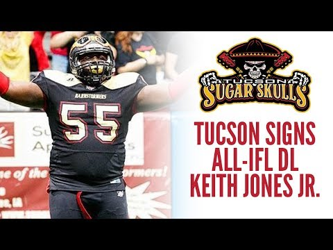 Sugar Skulls Sign Keith Jones Jr.