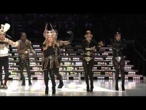 Madonna Vogue (Super-Bowl 2012)