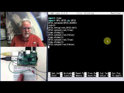 Raspberry Pi LInux LESSON 26: Controlling GPIO Pins in