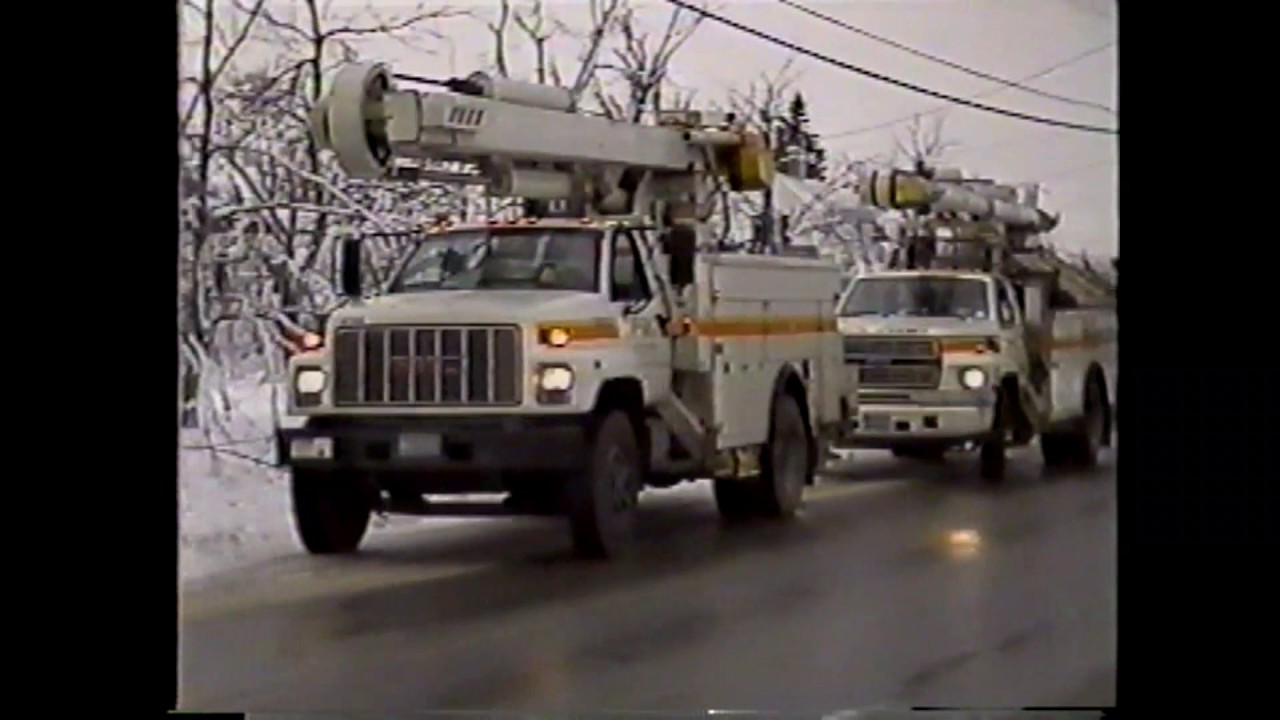 Champlain Telephone Co. - Ice Storm Video - 1998