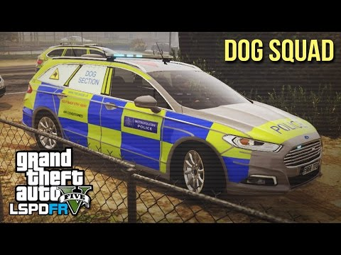 "GTA 5 LSPDFR - Met Police Dog Squad ft. ""Joffrey the Dog"" - The British way #63"