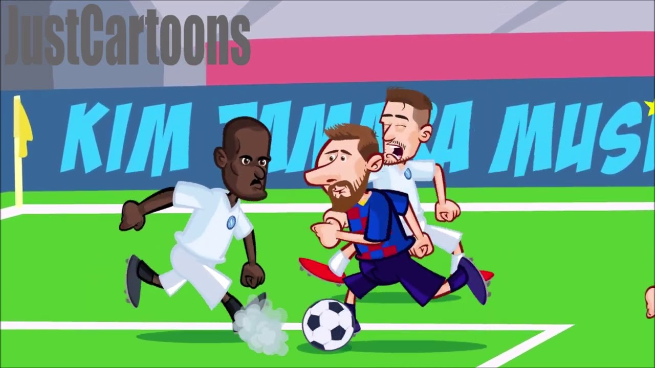 Barça - Napoli (3-1) Just Cartoons