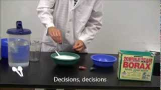 Fun With Polymers Series: How to make Gak