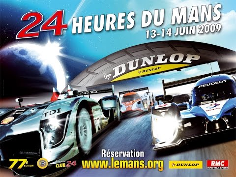 2009 Le Mans 24 Hours Eurosport coverage Part 7