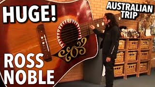 The World's Largest Playable Guitar? | Ross Noble's Australian Trip [2010]