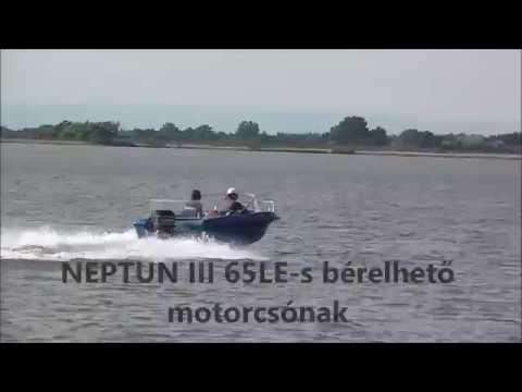 Motorcsónak bérlés kapitány nélkül