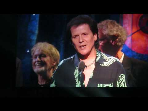 Yes accept their award at the R&R Hall of Fame Induction - April 7, 2017