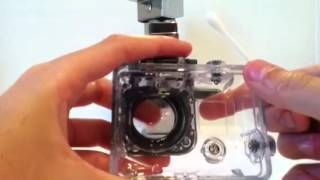 How to clean your GoPro Housing