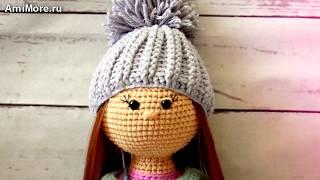 Амигуруми: схема куклы Стеша. Игрушки вязанные крючком. Free crochet patterns.