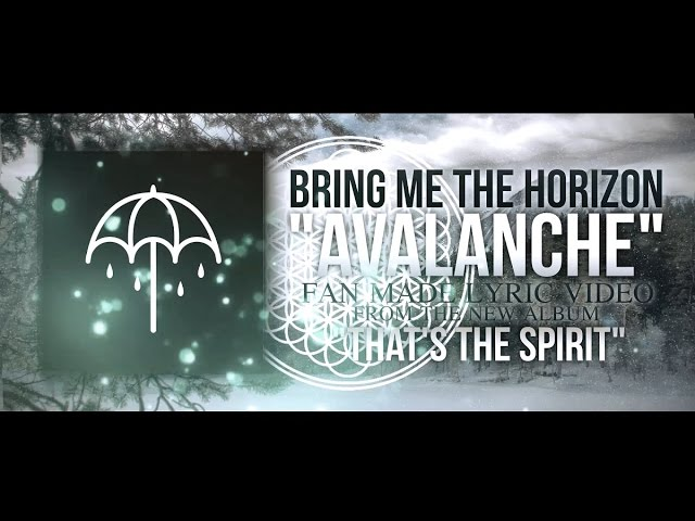 Bring Me The Horizon Avalanche Lyric Video Chords Chordify
