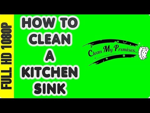 How to clean a sink | stainless steel sink cleaning | DIY sink cleaning