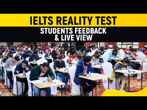 IELTS Reality Test   Students Feedback & Live View