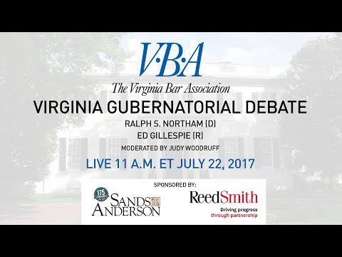 Virginia Gubernatorial Debate 2017
