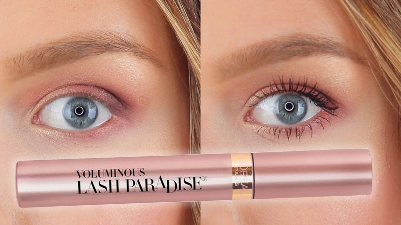 7027d83543f L'Oreal Voluminous Lash Paradise Mascara First Impressions - YouTube
