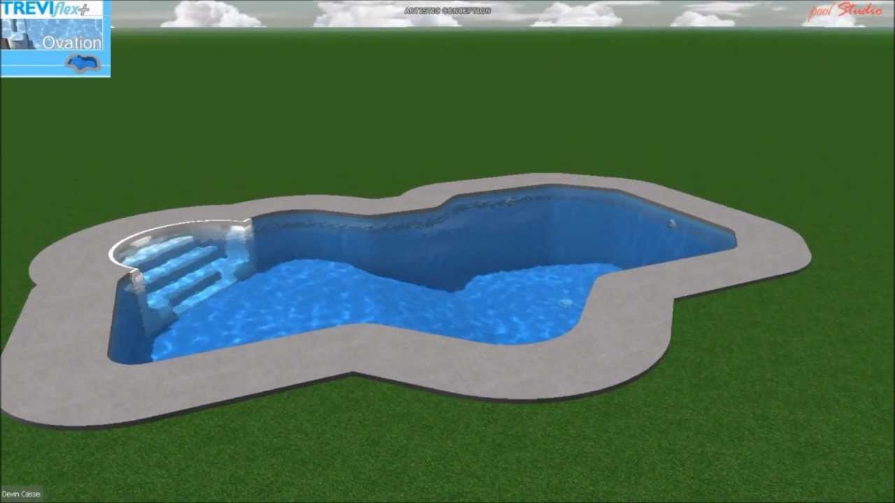Piscine tr vi flex ovation youtube for Piscine trevi