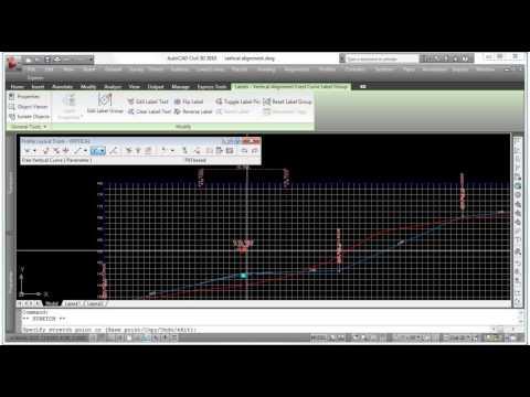 AutoCAD Civil 3D - Vertical Profile